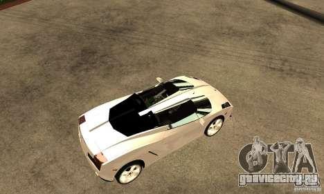 Lamborghini Concept S v2.0 для GTA San Andreas вид справа
