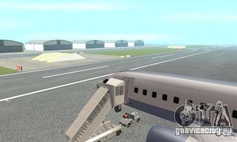 Airport Vehicle для GTA San Andreas пятый скриншот