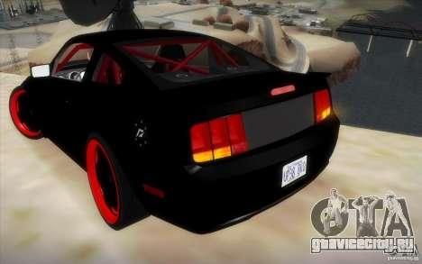 Ford Mustang GT для GTA San Andreas вид справа
