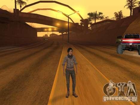 FaryCry 3 Liza Snow для GTA San Andreas третий скриншот