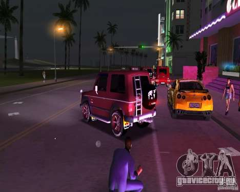 Mitsubishi Pajero для GTA Vice City вид слева