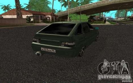 ВАЗ 2112 v.2 для GTA San Andreas вид слева