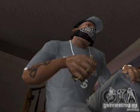 Kастет для GTA San Andreas второй скриншот