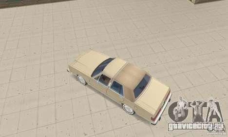 Mercury Grand Marquis LS 1986 для GTA San Andreas вид сзади слева