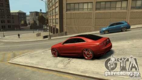 AUDI S5 для GTA 4 вид слева