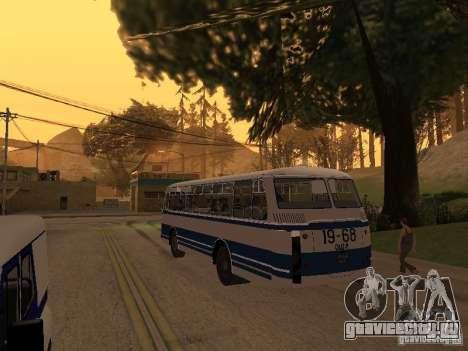ЛАЗ 695М для GTA San Andreas вид сзади