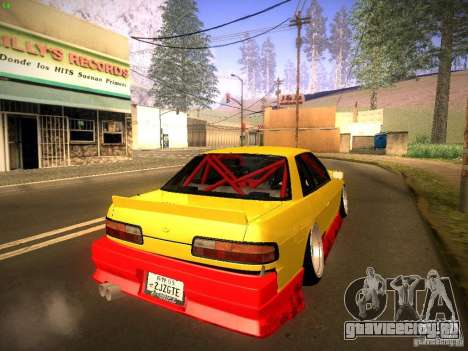 Nissan Onevia 2JZ для GTA San Andreas вид слева
