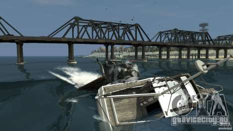 Biff boat для GTA 4 вид слева