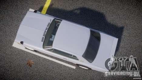 Nissan Skyline 2000 GT-R Drift Tuning для GTA 4 вид изнутри