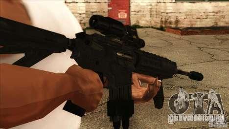 M4 с Датчиком сердцебиения для GTA San Andreas третий скриншот