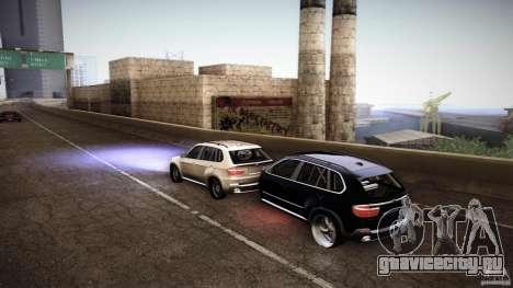 BMW X5 with Wagon BEAM Tuning для GTA San Andreas вид сзади слева