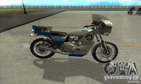 Kawasaki KZ1000 MFP для GTA San Andreas вид слева