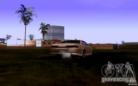Toyota Mark 2 JZX100 для GTA San Andreas вид сзади