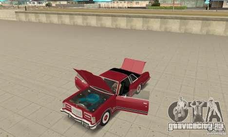 Ford LTD Landau Coupe 1975 для GTA San Andreas вид сзади