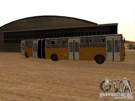 Икарус 280.46 для GTA San Andreas вид снизу