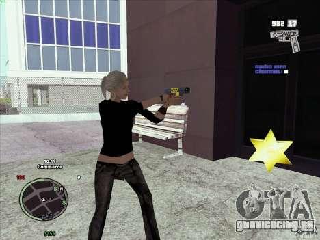 Пак оружия из GTA IV для GTA San Andreas