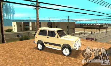 ВАЗ 21213 4x4 для GTA San Andreas вид сбоку