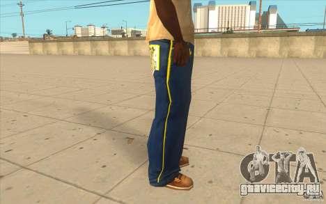 Karl Kan Puzzle Jeans для GTA San Andreas четвёртый скриншот