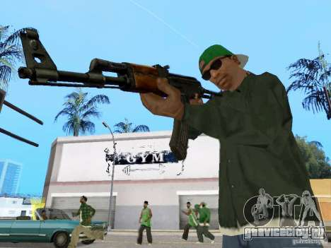 AKC - 47 HD для GTA San Andreas третий скриншот