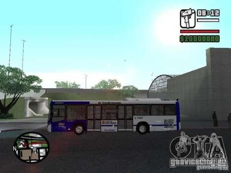 Busscar Urbanuss Ecoss MB 0500U Sambaiba для GTA San Andreas вид слева