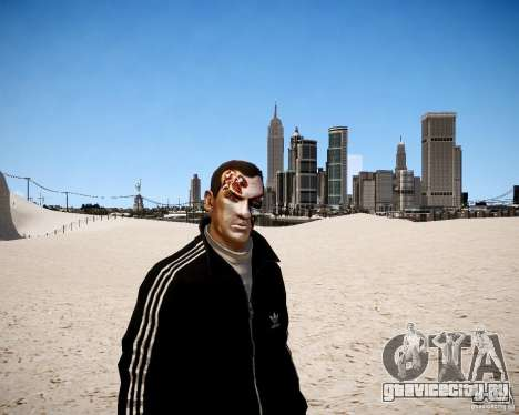 Niko - Terminator для GTA 4 второй скриншот