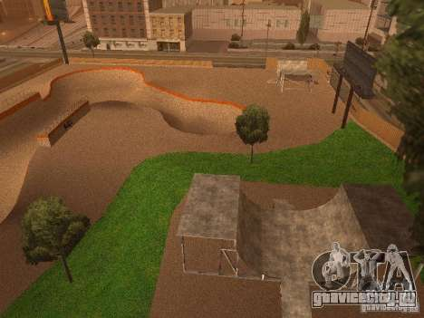 New SkatePark v2 для GTA San Andreas