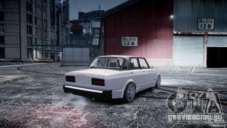 ВАЗ 2107 Drift для GTA 4 вид слева