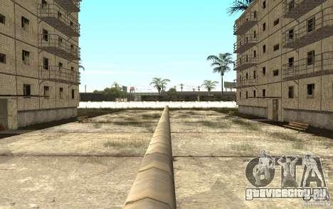 Маленький русский городок на Грув Стрит для GTA San Andreas шестой скриншот