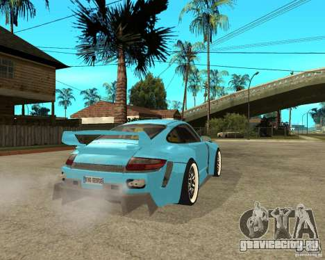 Porsche 911 Turbo Grip Tuning для GTA San Andreas вид сзади слева