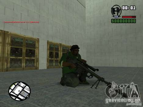 Black Weapon by ForT для GTA San Andreas пятый скриншот