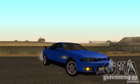 Nissan Skyline GT-R R-33 v2.0 для GTA San Andreas