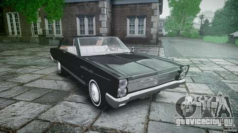 Ford Mercury Comet Caliente Sedan 1965 для GTA 4