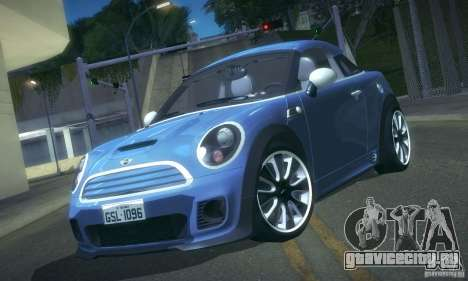 Mini Concept Coupe 2010 для GTA San Andreas