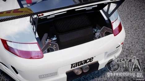 Porsche GT3 RSR 2008 SpeedHunters для GTA 4 вид сзади