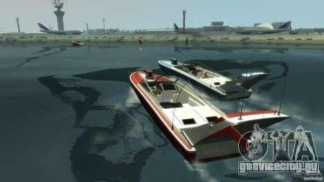 Tuned Jetmax для GTA 4 вид сзади слева