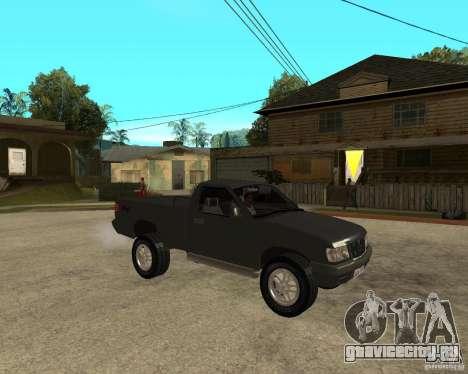Chevrolet S-10 для GTA San Andreas вид справа