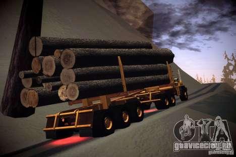 Прицеп к Hayes EQ 142 для GTA San Andreas