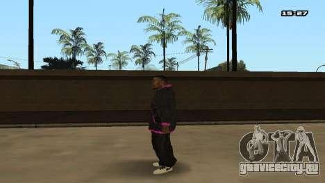 Skin Pack Ballas для GTA San Andreas седьмой скриншот