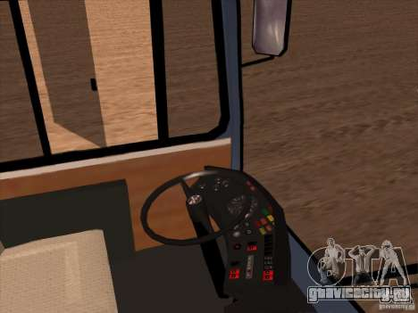 MAN SL200 Exclusive v.1.00 для GTA San Andreas двигатель
