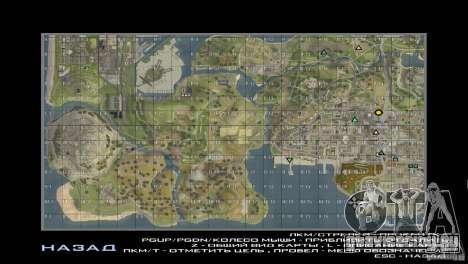 Map Mod v1.2 для GTA San Andreas