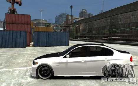 BMW 330i E60 Tuned 2 для GTA 4 вид слева