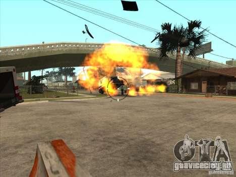 CLEO скрипт: Пулемёт в GTA San Andreas для GTA San Andreas пятый скриншот
