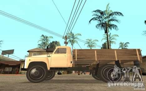 ГАЗ-52 для GTA San Andreas вид сзади
