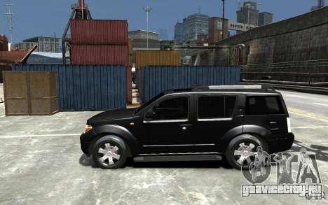Nissan Pathfinder 2006 для GTA 4 вид слева