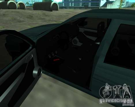 Opel Vectra GSiT 16V для GTA San Andreas вид сзади