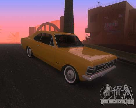 Chevrolet Opala Gran Luxo для GTA San Andreas