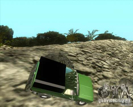 Chevrolet K5 Ute Rock Crawler для GTA San Andreas вид слева
