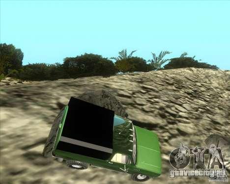 Chevrolet K5 Ute Rock Crawler для GTA San Andreas вид слева