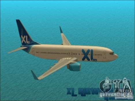 XL Airways 737-800 для GTA San Andreas