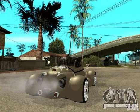 Messerschmitt GT500 Tiger Hard tuned для GTA San Andreas вид сзади слева